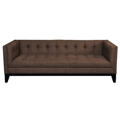 Lorenzo 3 Seater Chesterfield Sofa Upholstery: Brown
