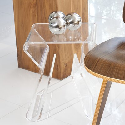 Klip End Table Color: Clear