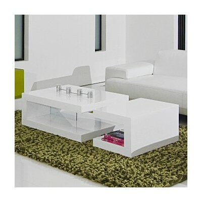 Lauren Coffee Table Finish: White
