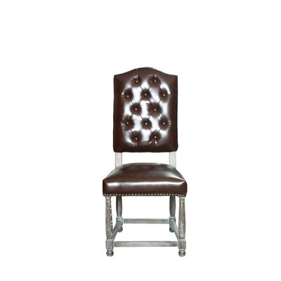 Leonard Side Chair Upholstery: Whiskey