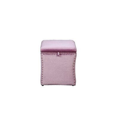 Sawiris Storage Ottoman Color: Violet