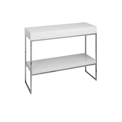Floyd Console Table Finish: White