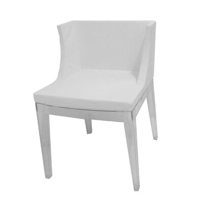 Flora Side Chair Upholstery Color: White