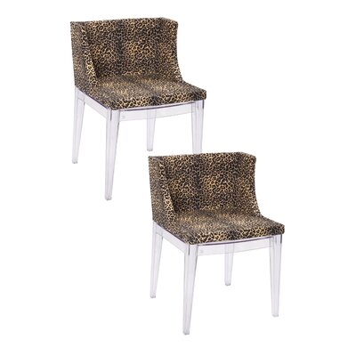 Flora Side Chair Finish: Leopard