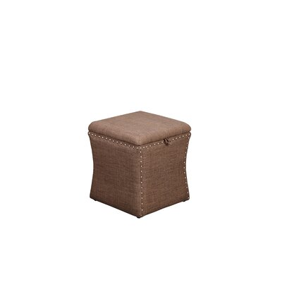 Sawiris Storage Ottoman Color: Brown