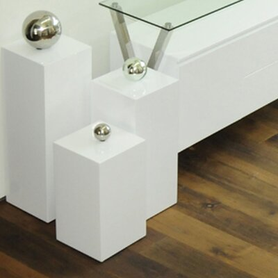 Ibiza Nesting Tables Color: White