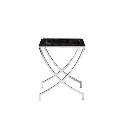 Ayleen End Table Color: Black