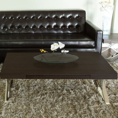Roreti Coffee Table Color: Espresso