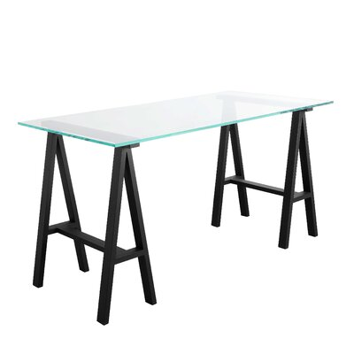 Daryll 55 Dining Table Color (Frame): Black