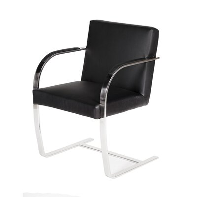 Pj �Arm Chair Upholstery: Black