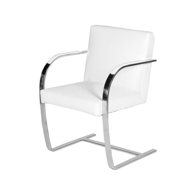Pj �Arm Chair Upholstery: White
