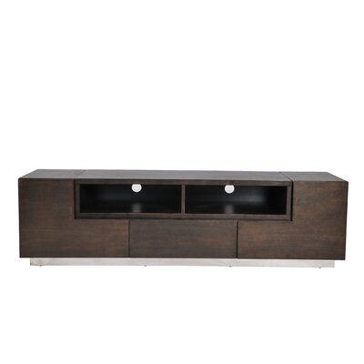 Rex 71 TV Stand Color: Espresso