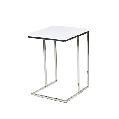 Pangea Home Smash Tray Table - Finish: White at Sears.com