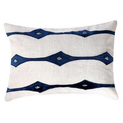 Applique Lumbar Pillow