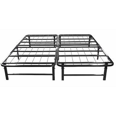 Platform Metal Bed Frame Size: King