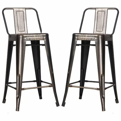 26 Bar Stool Finish: Antique Gold