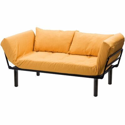 Futon and Mattress Color: Yellow