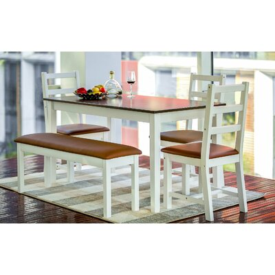 Sawicki 5 Piece Dining Set
