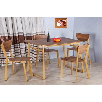 Merax Stylish 5-Piece Dining Set Dining Table Set