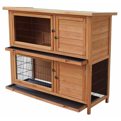 Fala Wooden Rabbit Hutch