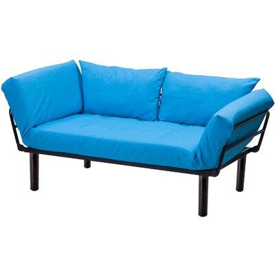 Futon and Mattress Color: Blue