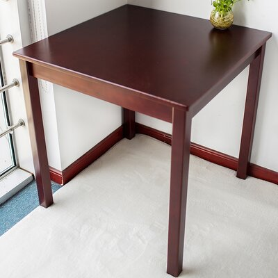 Pine Wood 28 inch Square Dining Table