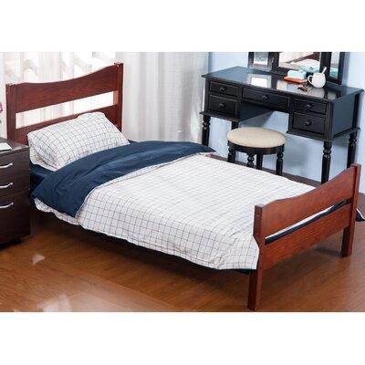 Twin Platform Panel Bed Color: Merlot