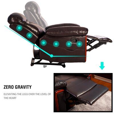 Vibrating Reclining Massage Chair