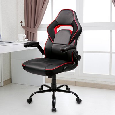 Racing Gaming Chair Color: Red