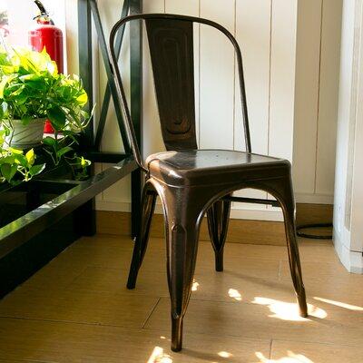 Lorenz Dining Chair Color: Antique Copper