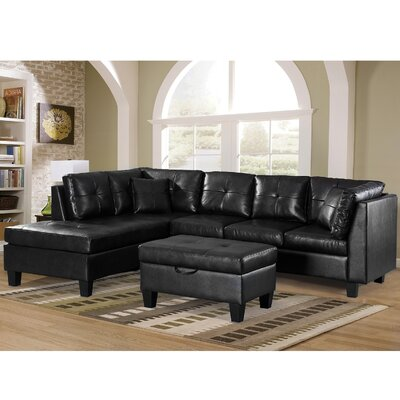 Gaston Sectional with Ottoman