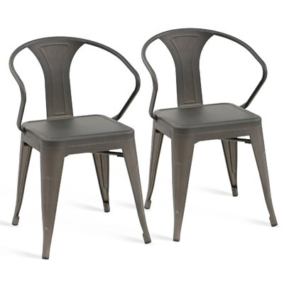 Karren Dining Chair Color: Dark Gray