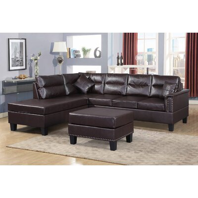 Adalwen Sectional Sofa with Ottoman