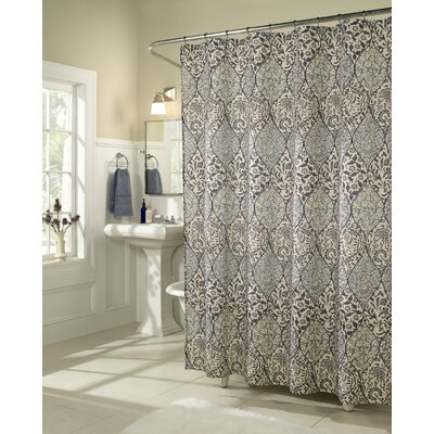 Pansy Microfiber Shower Curtain