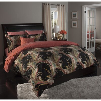 Nuevo 3 Piece Duvet Cover Set Size: Full/Queen, Color: Grey