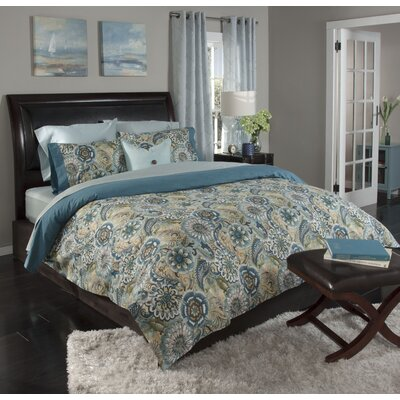Serendipity 3 Piece Duvet Cover Set Size: Full/Queen