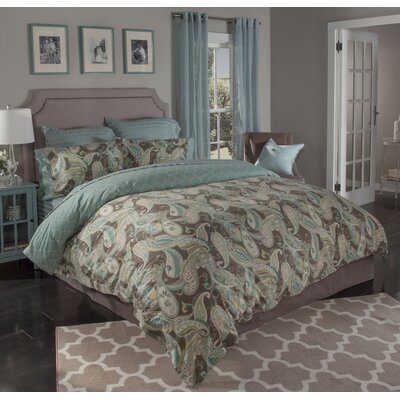 Whimsey 3 Piece Duvet Cover Set Size: King
