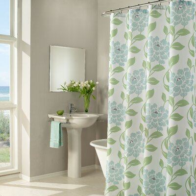 Flora Shower Polyester Curtain