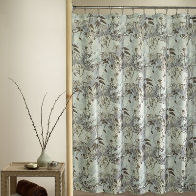 M. Style Island Breeze Shower Curtain in Blue | Wayfair