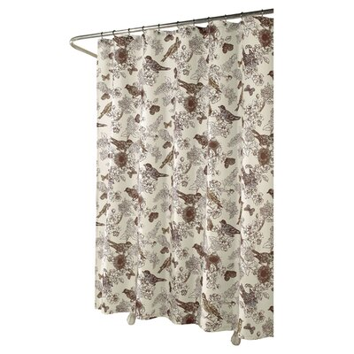 Birdwatcher Shower Curtain