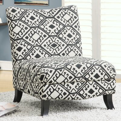 Abstract Slipper Chair