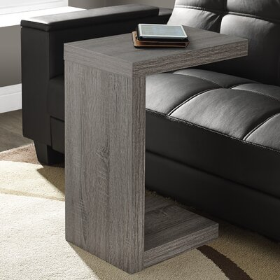Jess End Table Color: Dark Taupe
