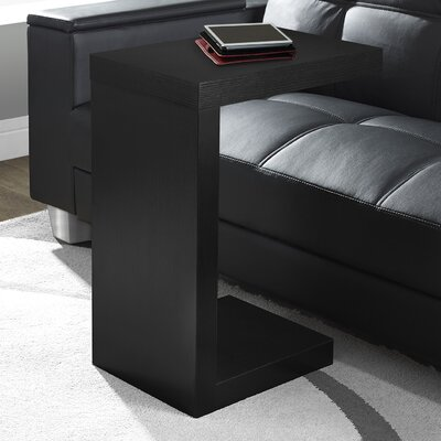 Monarch End Table Finish: Black