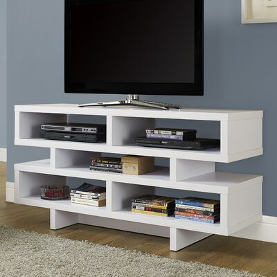 Jess 48 TV Stand Color: White
