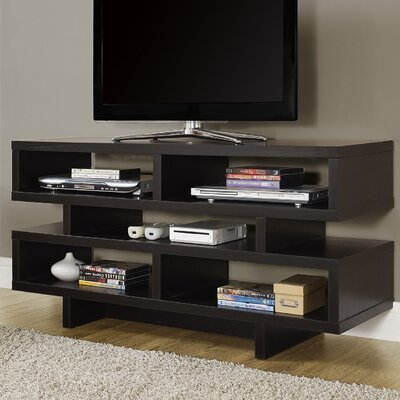 Jess 48 TV Stand Color: Cappuccino