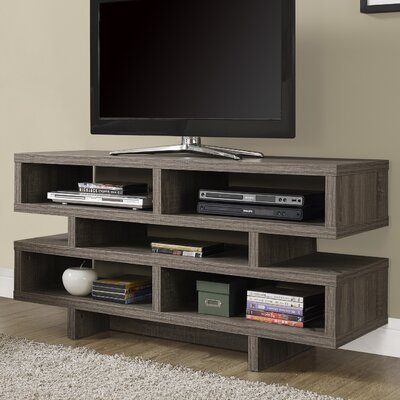 Jess 48 TV Stand Color: Dark Taupe