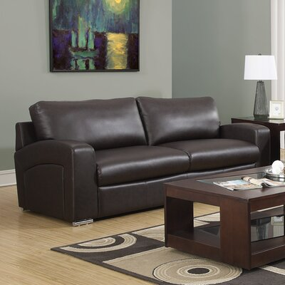 Sofa Upholstery: Dark Brown