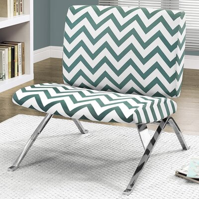 Slipper Chair Upholstery: Teal