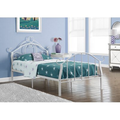 Twin Panel Bed Finish: White