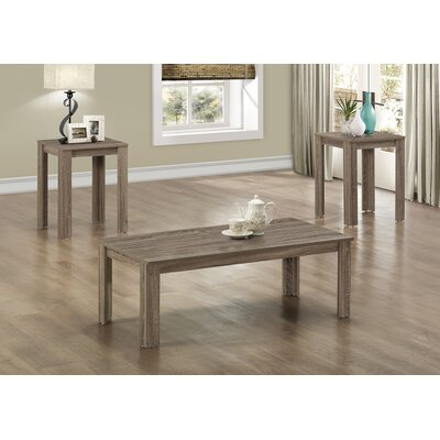 Bullsbrook 3 Piece Coffee Table Set